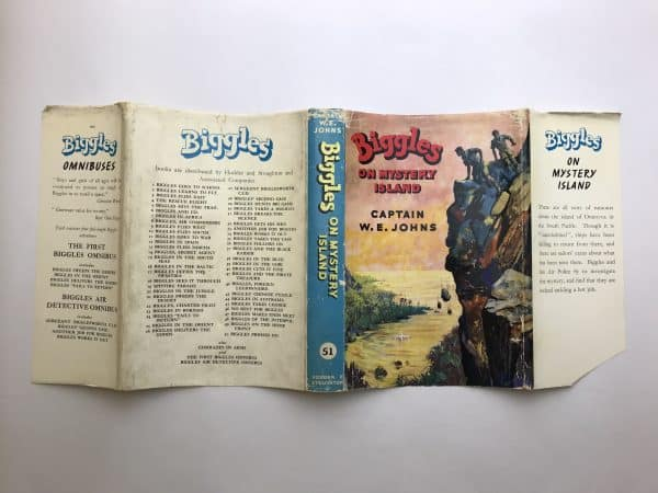 we johns biggles on mystery island first edition4