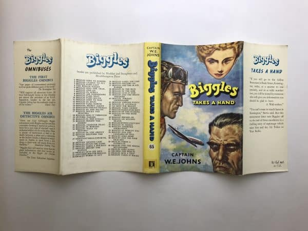 we johns biggles takes a hand first edition4