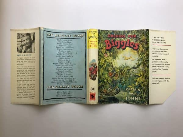 we johns orchids for biggles first edition4