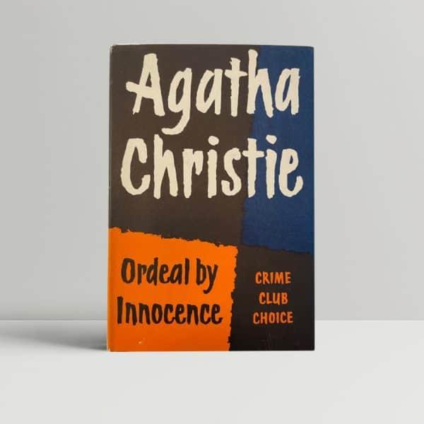 agatha christie ordeal by innocense 1st ed1