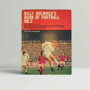 billy bremners book of football2 signed1