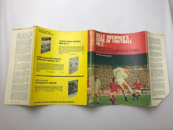 billy bremners book of football2 signed3