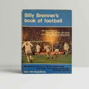 billy bremners book of football signed1