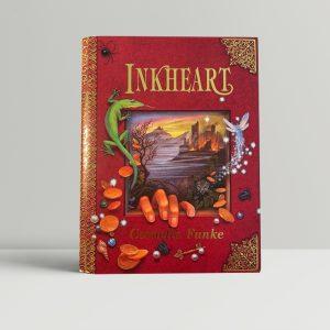 cornelia funke inkheart signed first edition1