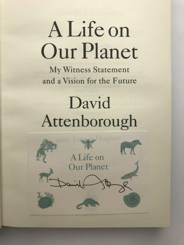 david attenborough a life on our planet signed first edition2