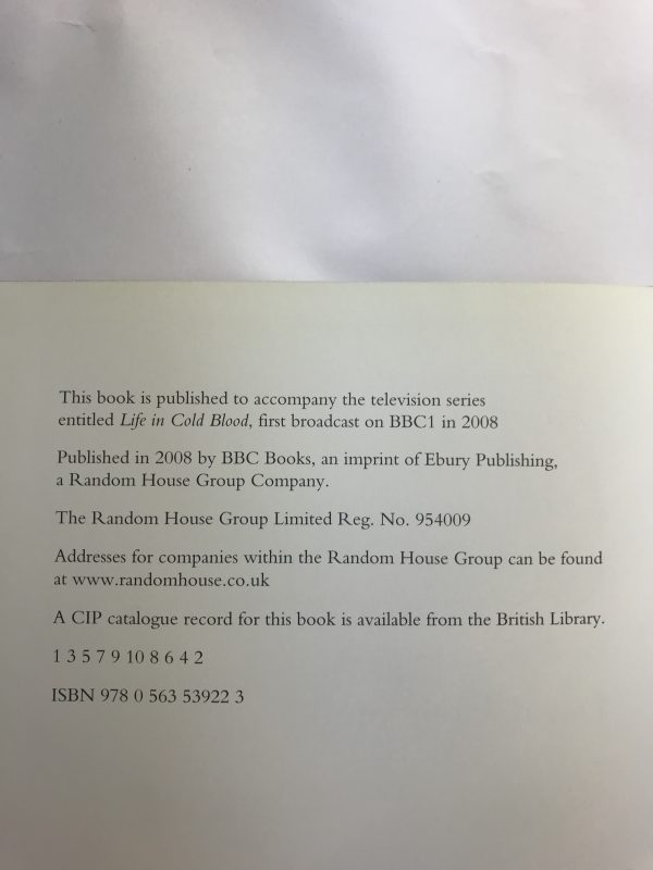 david attenborough life in cold blood signed first edition2