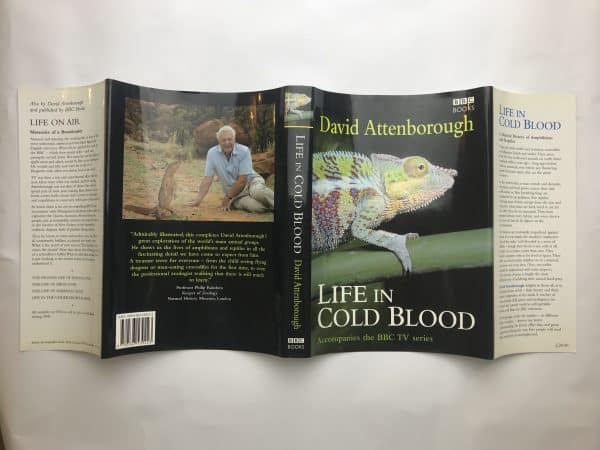 david attenborough life in cold blood signed first edition5