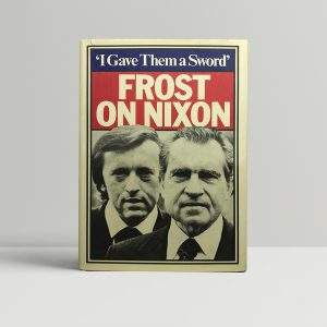 david frost frost on nixon signed first edition1