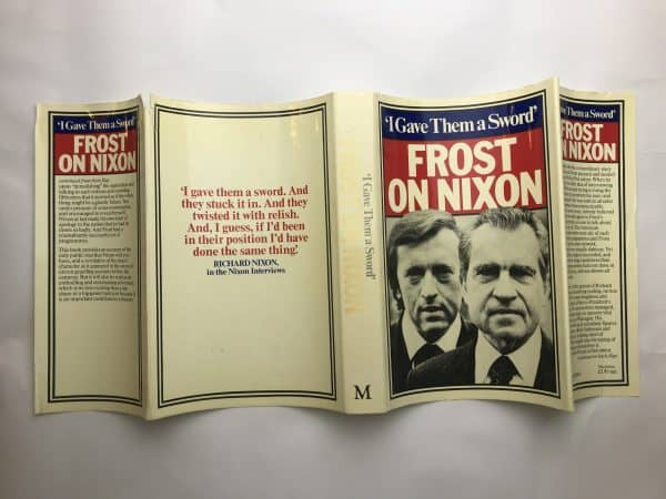 david frost frost on nixon signed first edition5