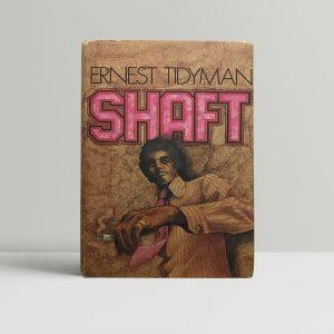 ernest tidyman shaft fisrt edition1
