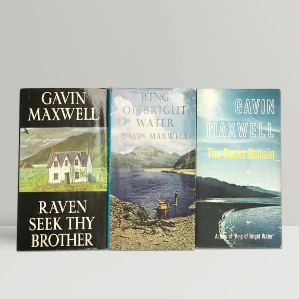 gavin maxwell ring of bright water trilogy1