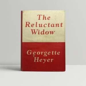 georgette heyer the reluctant window first edition1