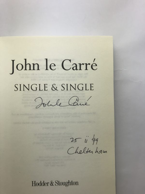 john le carre single and single signed first edition2