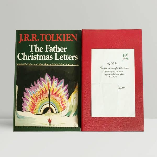 jrr tolkien the father christmas letters first edition signed letter1