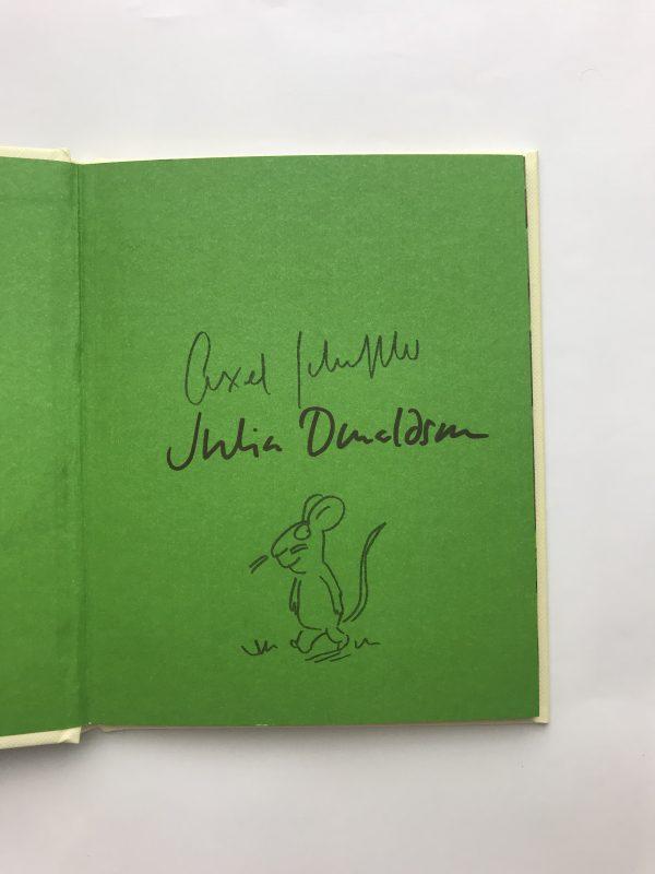 julia donaldson the gruffalo and child double signed2