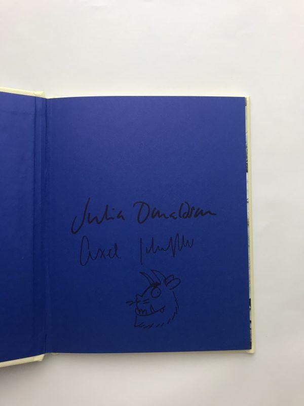 julia donaldson the gruffalo and child double signed3