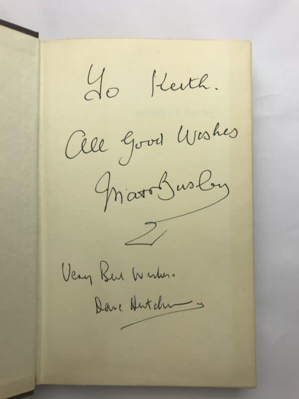 matt busby soccer at the top signed first edition2