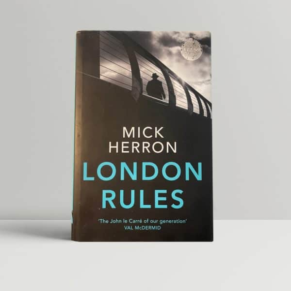 mick herron london rules signed first edition1