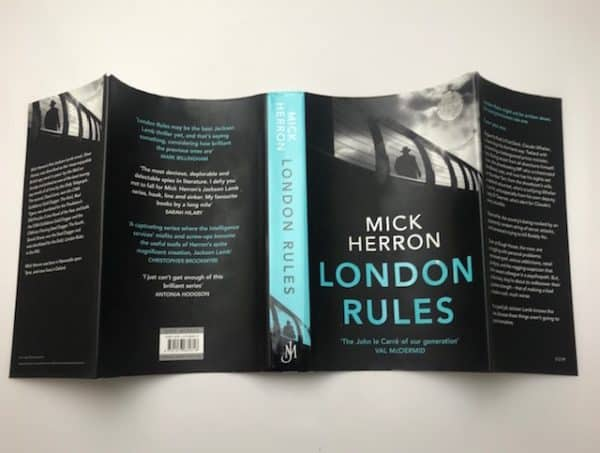 mick herron london rules signed first edition4