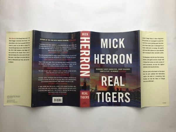 mick herron real tigers first ed4