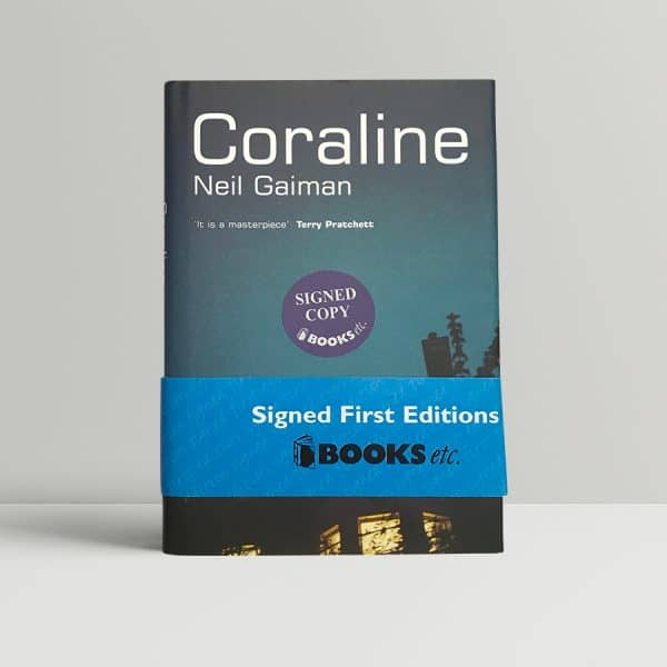 neil gaiman coraline signed first edition1