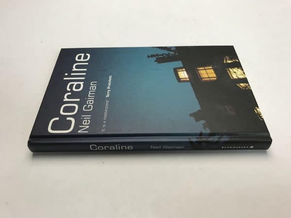 neil gaiman coraline signed first edition4