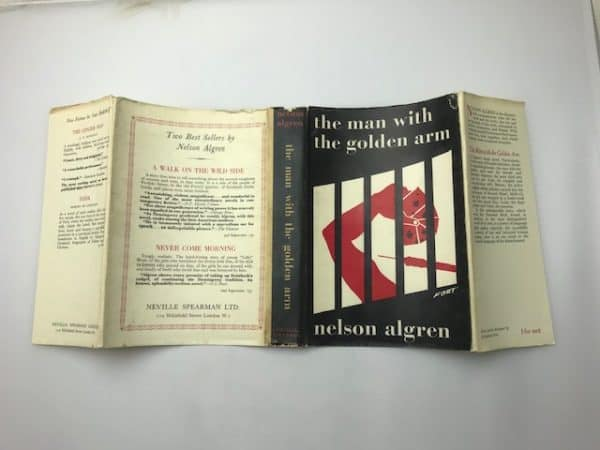 nelson algren the man with the golden arm first edition4
