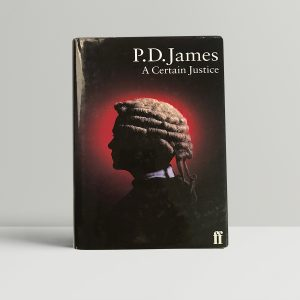 pd james a certain justice signed first ed1