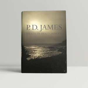 pd james death in holy orders signed first ed1