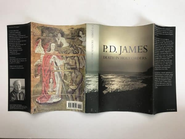 pd james death in holy orders signed first ed5