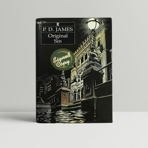 pd james original sin signed first ed1