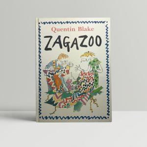 quentin blake zagazoo signed first ed1