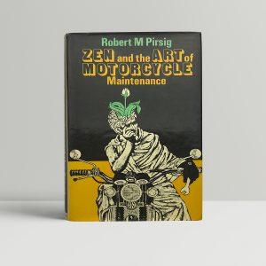 robert m pirsig zen and the art of motorcycle maintenance fisrt edition1