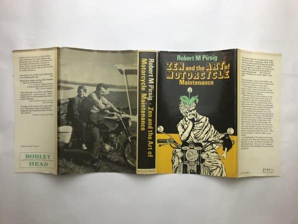 robert m pirsig zen and the art of motorcycle maintenance fisrt edition4