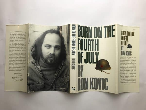 ron kovic born on the 4th of july fisrt ed4
