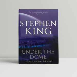 stephen king under the dome first edition1