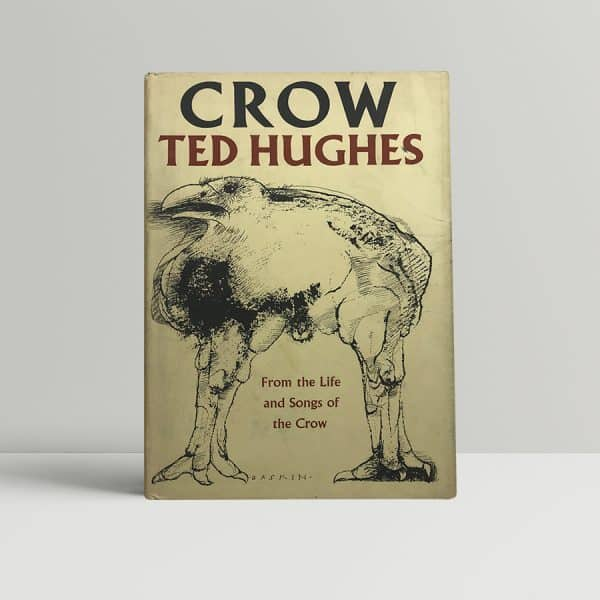 ted hughes crow first edition1