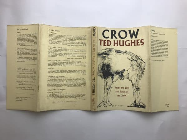 ted hughes crow first edition4
