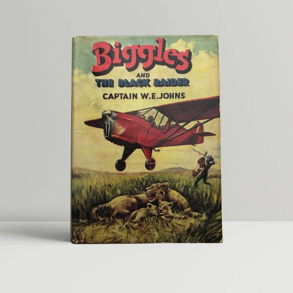 we johns biggles and the black raider first edition1
