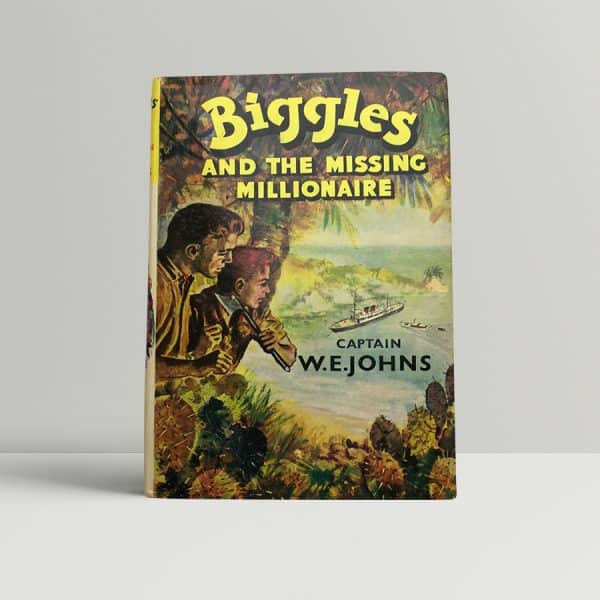 we johns biggles and the missing millionaire first edition1