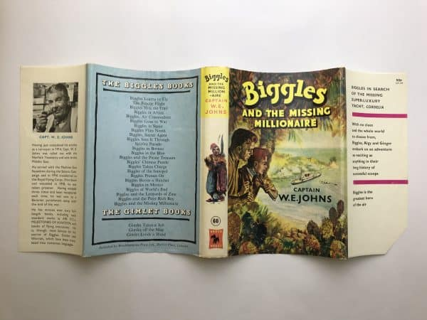 we johns biggles and the missing millionaire first edition4