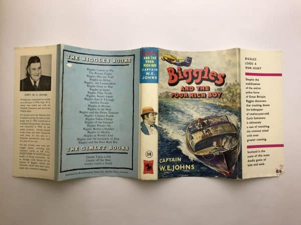 we johns biggles and the poor rich boy first edition4