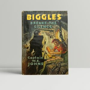 we johns biggles breaks the silence first edition1