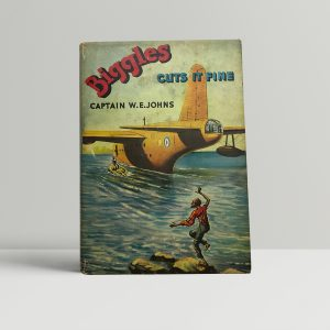 we johns biggles cuts it fine first edition1