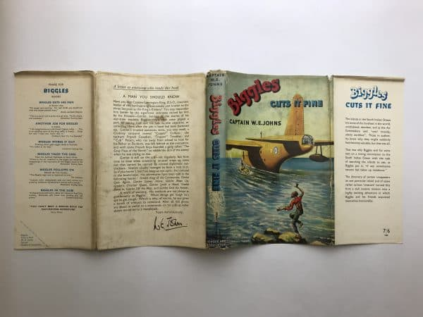 we johns biggles cuts it fine first edition4