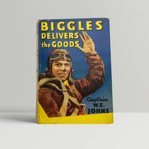 we johns biggles delivers the goods first edition1
