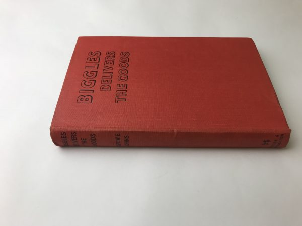 we johns biggles delivers the goods first edition3