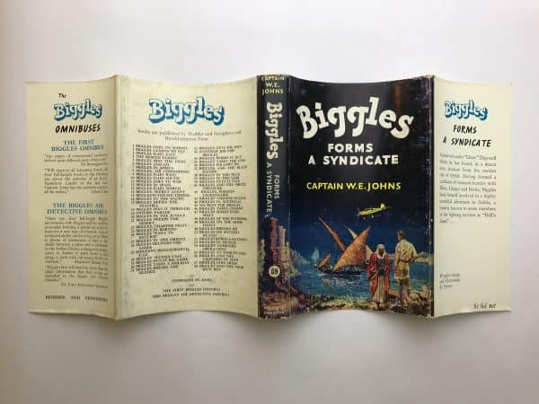 we johns biggles forms a syndicate first edition4