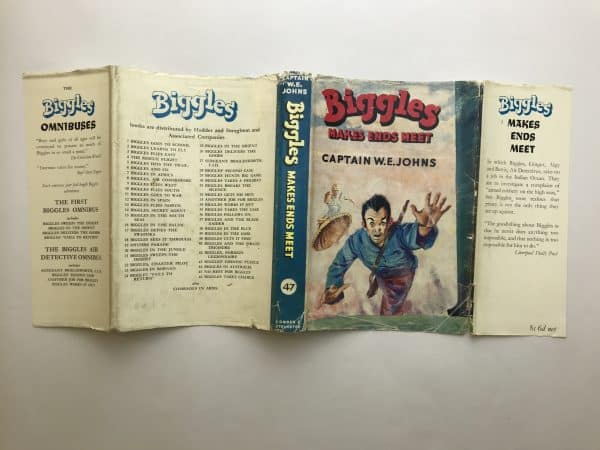 we johns biggles makes ends meet first edition4