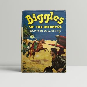 we johns biggles of the interpol first edition1